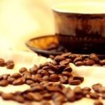 Café fraîchement torréfié